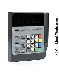 Card Reader With LCD Screen