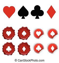card sign vector illustration