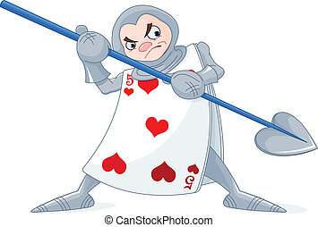 Card Soldier from Wonderland story