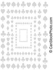 Card symbols.