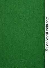 Card table felt - Surface texture of a real poker table felt