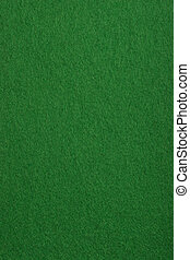 Card table felt - Surface texture of a real poker table felt