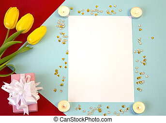 card, template, banner, copy Space for the holiday
