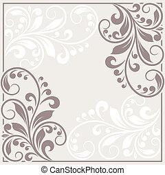 card., uitnodiging