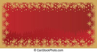 Card vector illustration winter