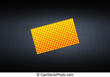 card with a picture