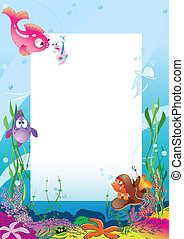 Card with fish
