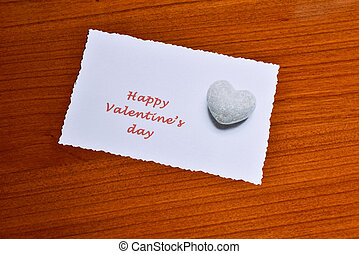 card with happy vantine's day