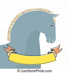 Card With Horse