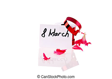 Card Women's Day March 8