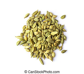cardamom isolated on a white background