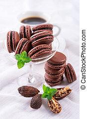cardamom, macarons, チョコレート