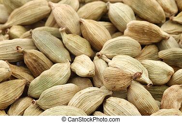 cardamom seeds background