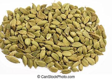 Seeds of dried cardamom