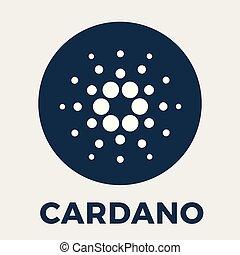 cardano, descentralizado, acodado, (ada), blockchain, ...