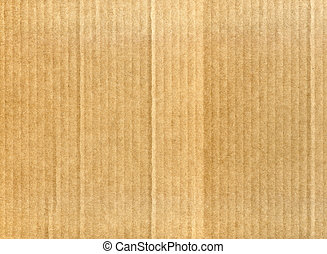 Cardboard background - Textured corrugated cardboard with...