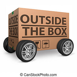 cardboard box blank
