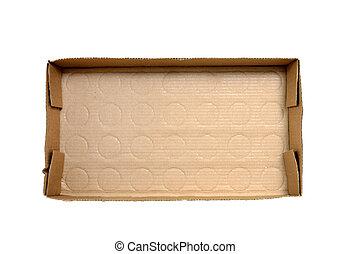 Cardboard Box Bottom Background