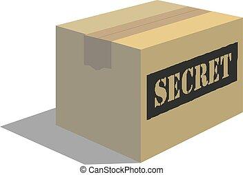 Cardboard box vector illustration eps 10
