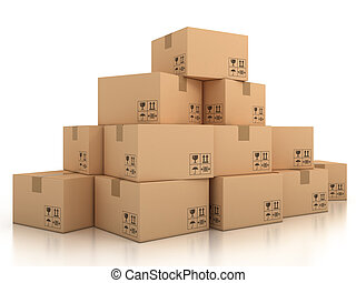 Image result for boxes clipart