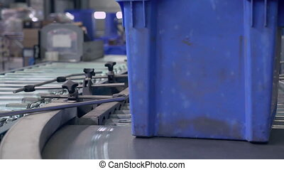 Cardboard Boxes on packaging lines
