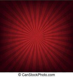 Cardboard Dark Red Wrinkles Sunburst Texture