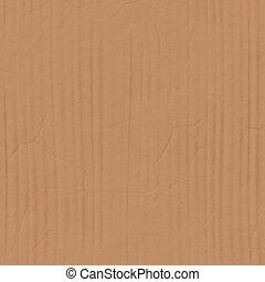 cardboard detail - closeup of cardboard texture showing ...