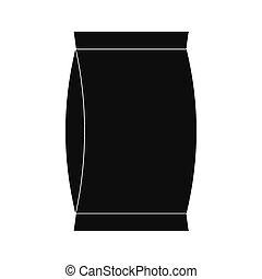 Cardboard packaging icon