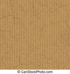 cardboard., seamless, texture.