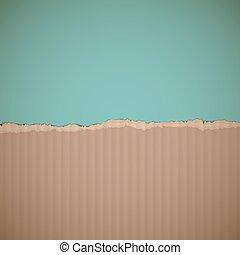 cardboard. Stock illustration.