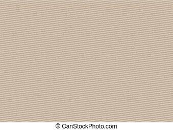 Cardboard Stripped Background
