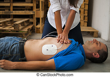 cardiac resuscitation assistance