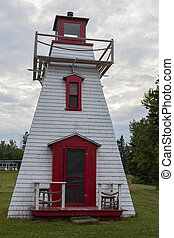 Cardigan River Lighthouse on Prince Edward Island