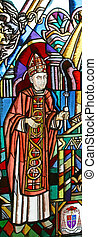 Cardinal Franjo Kuharic, stained glass