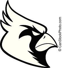 Cardinal Sports Mascot Illustration