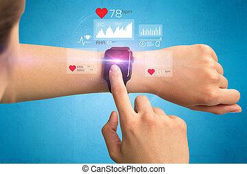 cardio, smartwatch.
