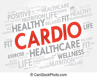 CARDIO word cloud