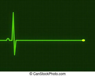 cardiogram  - Abstract heart beats cardiogram for you design