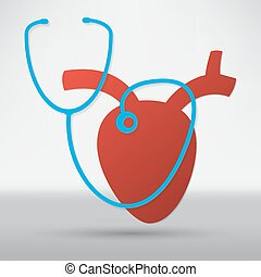 cardiogramme, icône