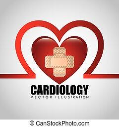cardiologia, icona