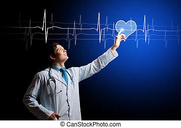 cardiologue, jeune