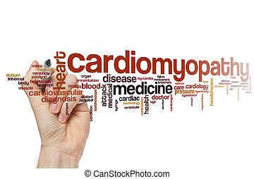 Cardiomyopathy word cloud
