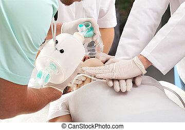 cardiopolmonare, respirazione, rianimazione