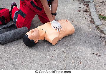 Cardiopulmonary resuscitation - CPR