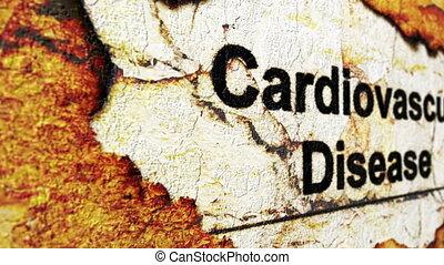 Cardiovascular disease concept