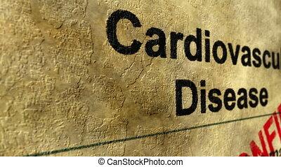 Cardiovascular disease confirm