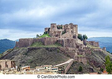 Cardona castle is a famous medieval castle in Catalonia.