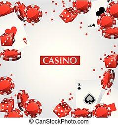 Cards Chips Casino Poker .eps