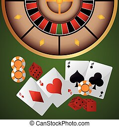 cards chips dice casino icon