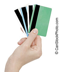 cards in a hand